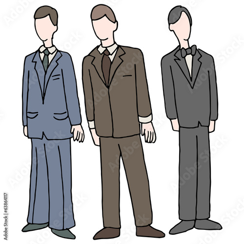 Men Wearing Formal Attire