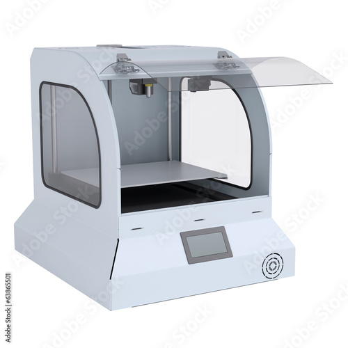 Printer for manufacturing 3d solid models