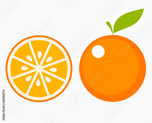 Orange fruit slice © Studio Barcelona