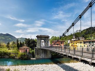 Toscana, Ponte delle Catene a Bagni di Lucca