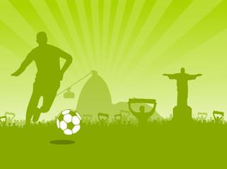 Rio de Janeiro - Fussballer - Fans