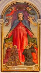 Venice - Virgin of grace in Basilica di san Giovanni e Paolo