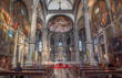 Venice -  Interior of San Zaccaria church.