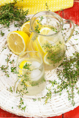 Lemonade. Fruit and Herb Lemonade