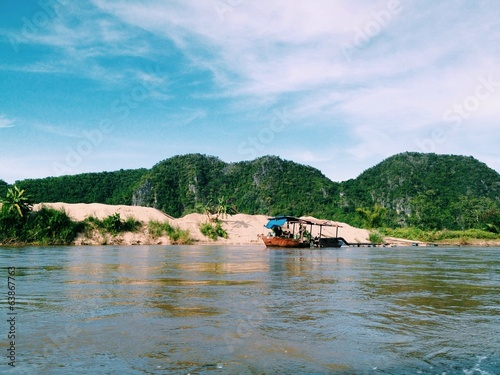 river in Thailand