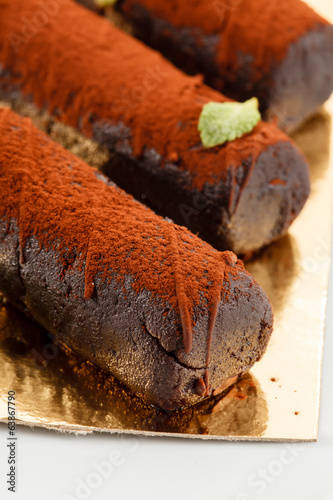 canvas print picture chocolate pastry