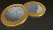 The digital currency gold edge coins