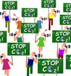 "Manif ""Stop CO2!"""