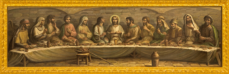 Bologna - Last supper of Christ -  San Giovanni in Monte