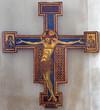 Bologna - Crucifixion by Giunta Pisano (1250)