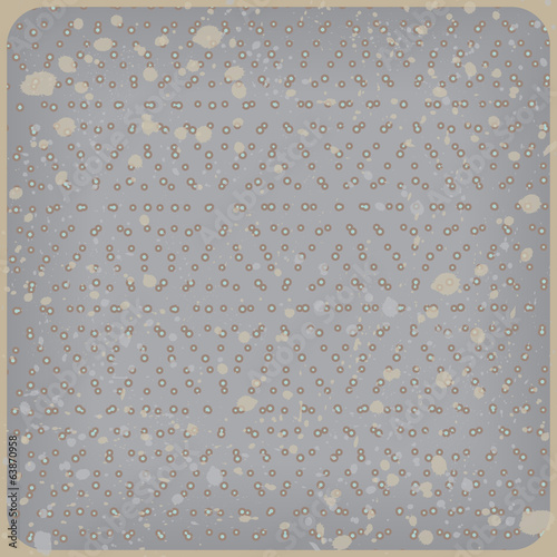 Polka dot background. Rhombus pattern. Vector illustration