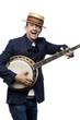 Crazy banjo man