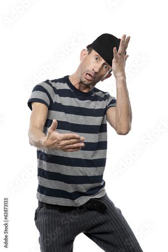 Man doing hip hop