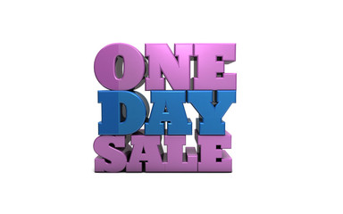 One Day Sale Marketing Discount Coupon