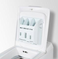 Detergent box in wasching machine.