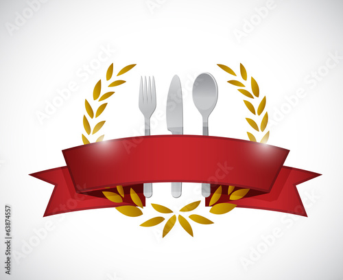 restaurant seal graphic. illustration design