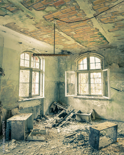 Abandoned Hospital in Beelitz near Berlin in Germany