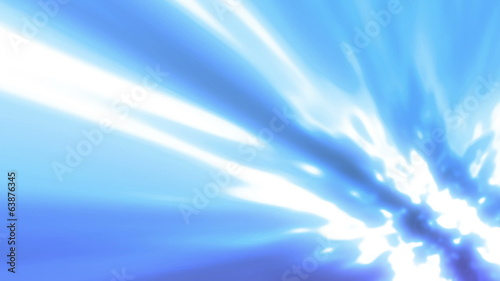 Blue Flowing Soft Light Looping Animated Background