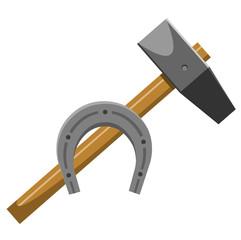hammer horseshoe
