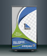 Call Center Roll Up Banner Design