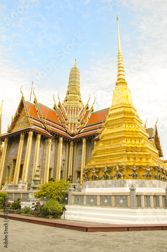 The majestic Grand Palace in Bangkok