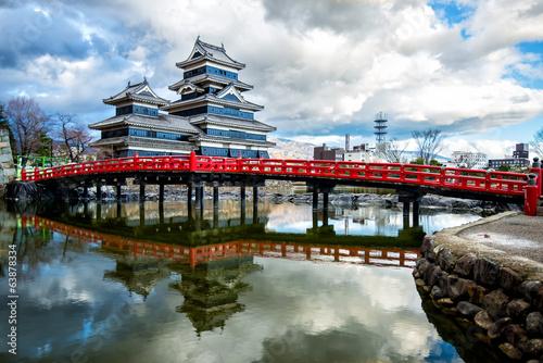 Deurstickers Japan Matsumoto Castle, Japan