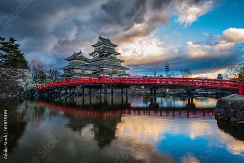 Foto Spatwand Japan Matsumoto Castle, Japan