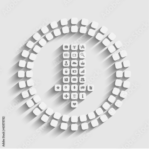 vector download concept