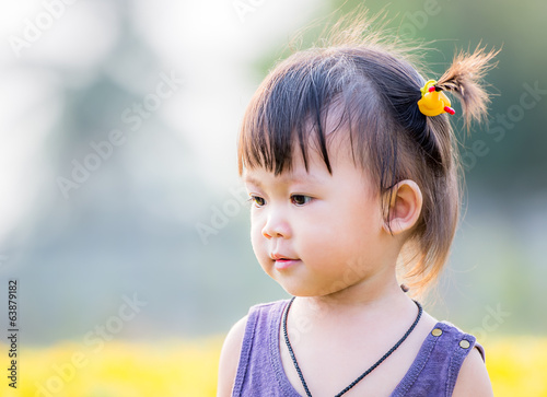 Little asian girl
