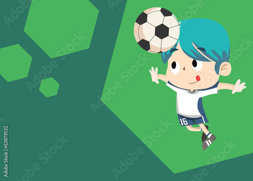 Sport Card - Akito Soccer Player