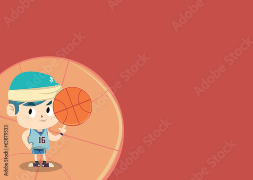 Sport Card - Akito Basketball Player