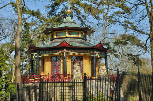 chinese house of Cassan in L Isle Adam