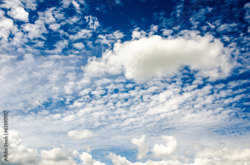 canvas print picture sky :)