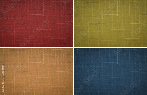 Set fabric texture background