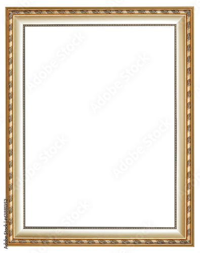 vertical ancient silver classic wood picture frame