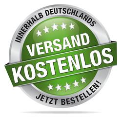 Versand kostenlos - innerhalb Deutschlands