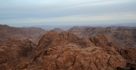 Egypt, Sinai mountains