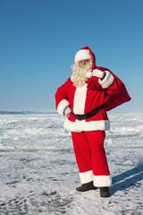 Santa Claus outdoors