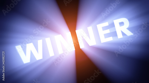 Illuminated WINNER