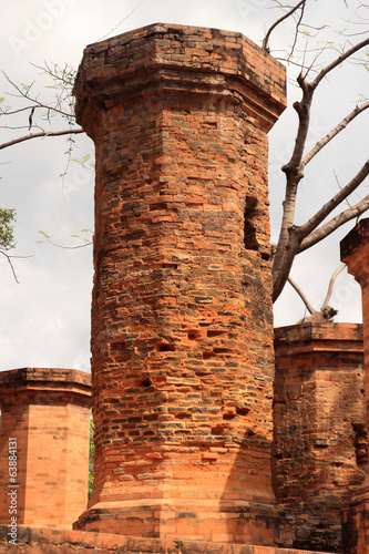 ancient brick tower
