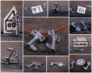 Schlüssel-Collage