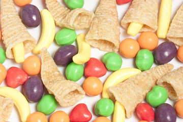 Mini Cornucopias & Candies
