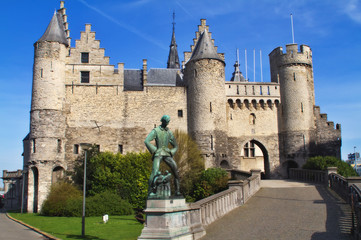 Steen castle, Antwerp Balgium