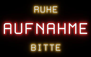 AUFNAHME - Ruhe Bitte