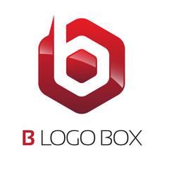 B Logo Box
