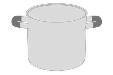 cartoon illustration of pot