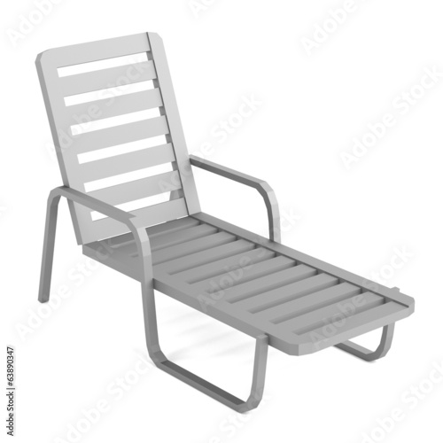 realistic 3d render of chair