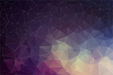 Fototapety Colorful geometric background with triangles