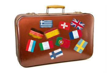 valigia da turista