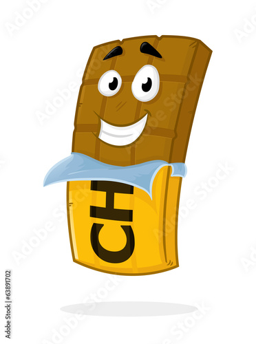 Chocolate Bar Mascot